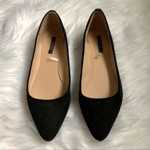 Black Point Toe Flats Size 5.5